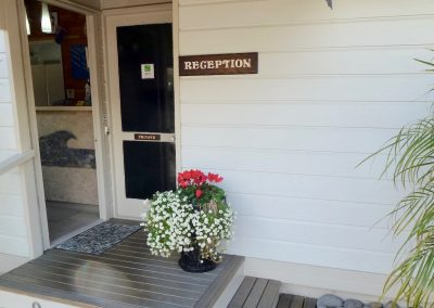 Orewa Motor Lodge Reception
